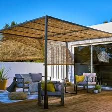 avec quoi recouvrir une pergola pose. Black Bedroom Furniture Sets. Home Design Ideas